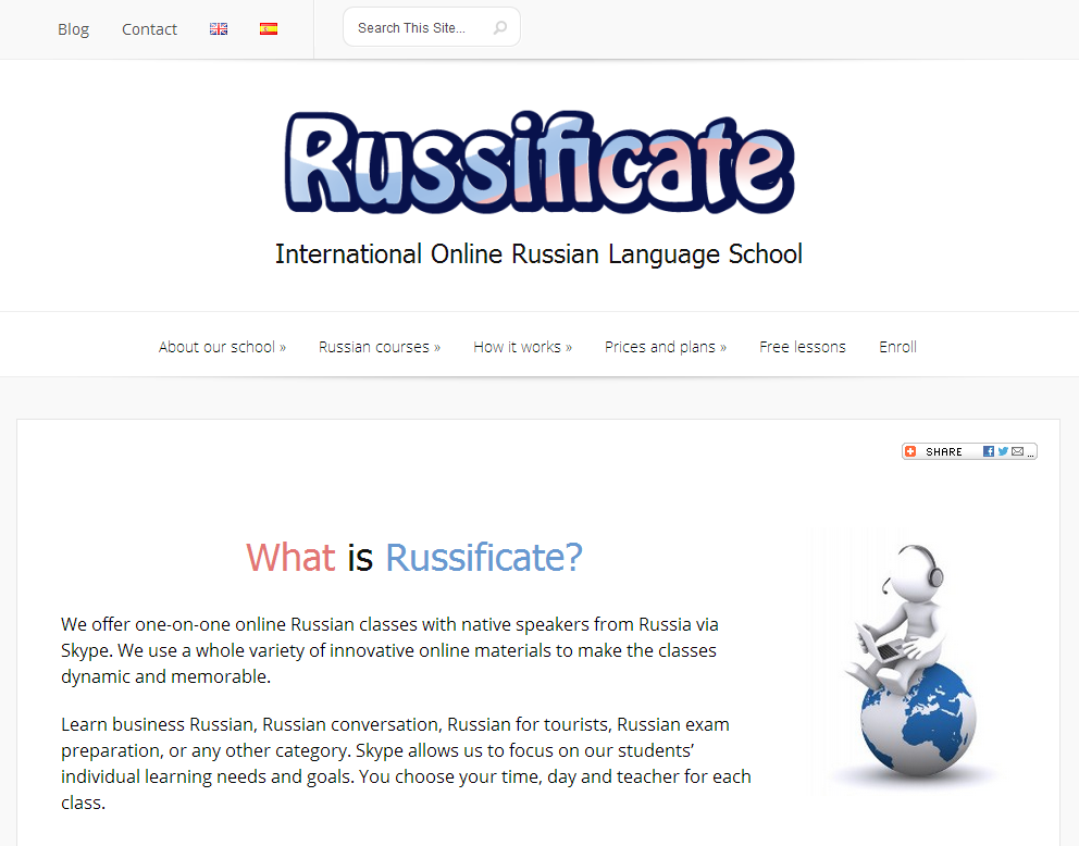 Russificate Online Russian Language School